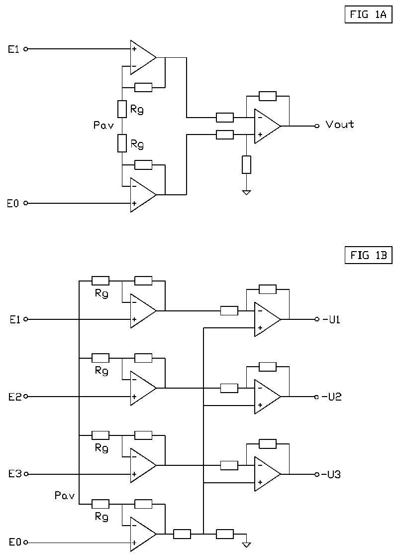 Artikel4 Voltage Amplifier Circuit Using Op Amp The At Point Pav Is Equal To Common Mode B Multichannel Instrumentation With Operational Amplifiers
